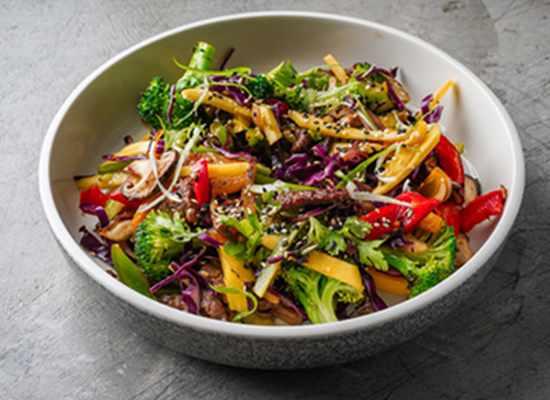 Salads- Samurai Beef Salad